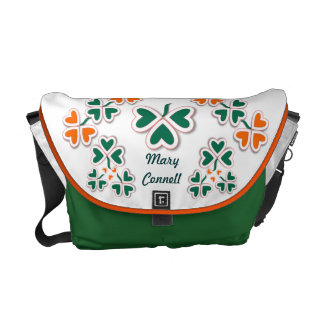 Shamrock & More Courier Bag