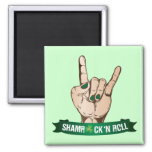 Shamrock N Roll Magnet