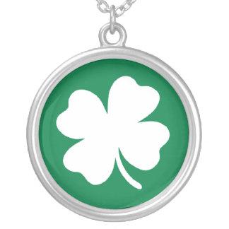 Shamrock Necklace Pendant