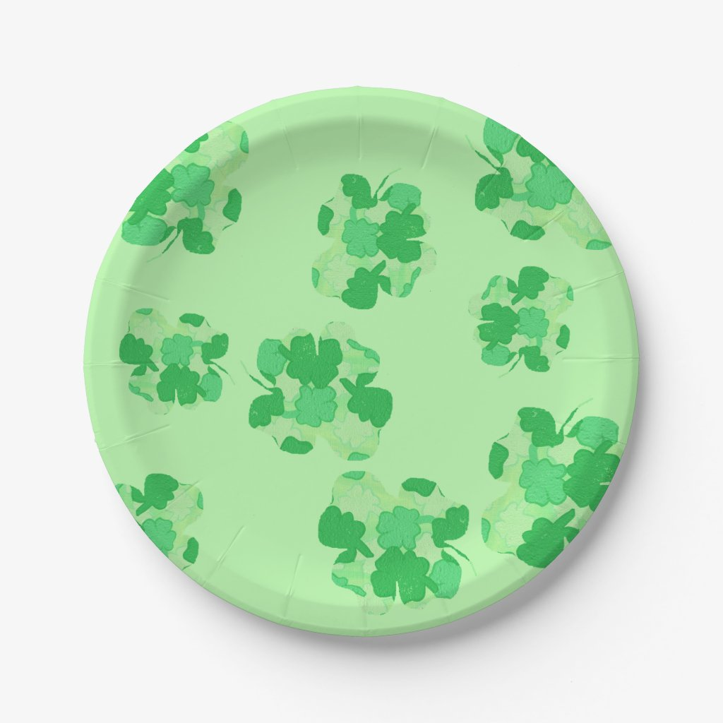 Shamrock of Shamrocks Paper Plates