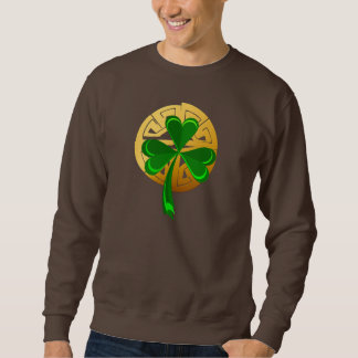 Shamrock on Gold Sweatshirt