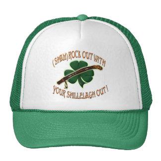 ShamRock Out w/ Shillelagh Out Trucker Hat
