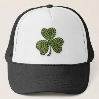 Shamrock Outline Trucker Hat