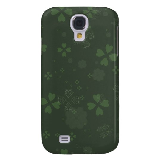 Shamrock Paper Galaxy S4 Cover