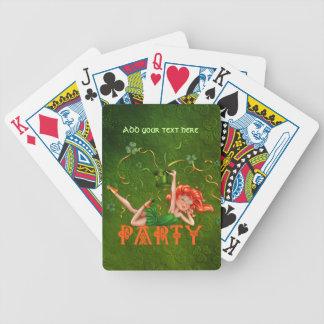 Shamrock Party Girl Card Deck