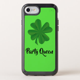 Shamrock Party Queen Presidio iPhone 8/7/6s/6 Case