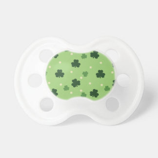 Shamrock Pattern Baby Pacifier