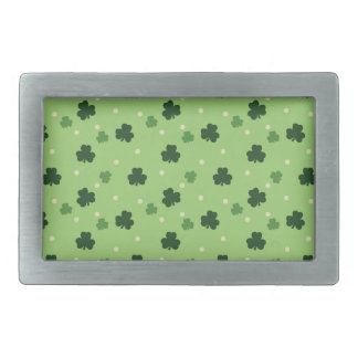 Shamrock Pattern Belt Buckle
