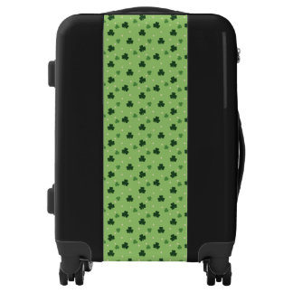 Shamrock Pattern Luggage