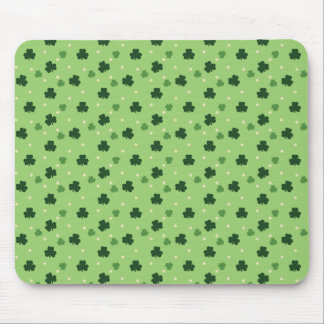 Shamrock Pattern Mouse Pad