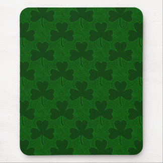 Shamrock Pattern Mouse Pad
