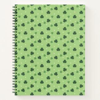 Shamrock Pattern Notebook