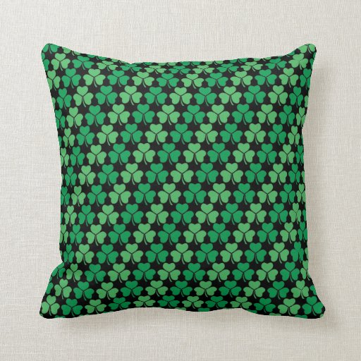 Shamrock Pattern Pillow