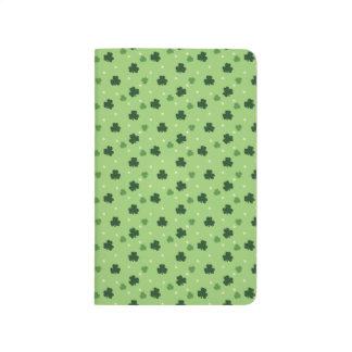 Shamrock Pattern Pocket Journal