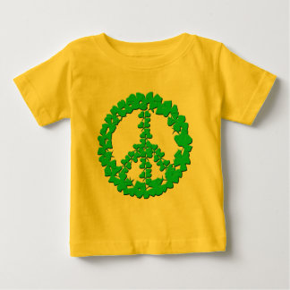 Shamrock Peace Sign Products Baby T-Shirt