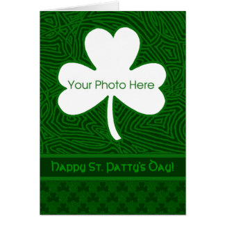 Shamrock Photo Card