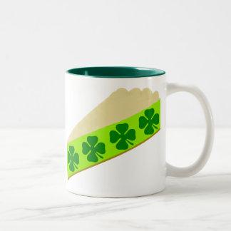 Shamrock Pie Two-Tone Coffee Mug