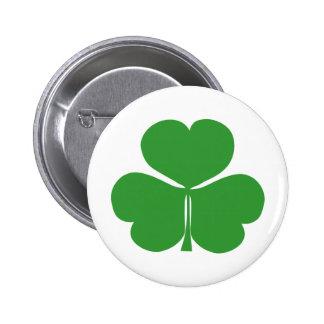 Shamrock Pinback Button