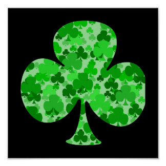 Shamrock png posters