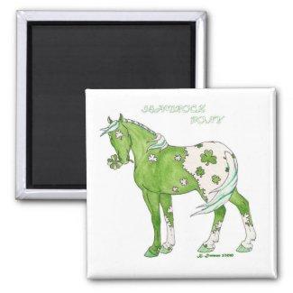 Shamrock Pony-Magnet magnet