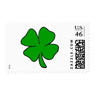 Shamrock Postage Stamp