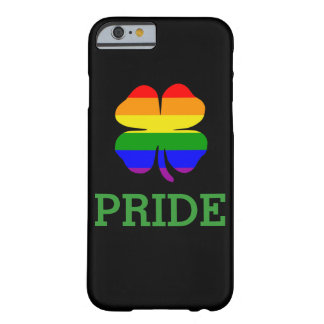 Shamrock Rainbow flag Gay Pride Barely There iPhone 6 Case