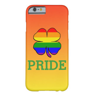 Shamrock Rainbow flag Gay Pride On Sun Rise Yellow Barely There iPhone 6 Case