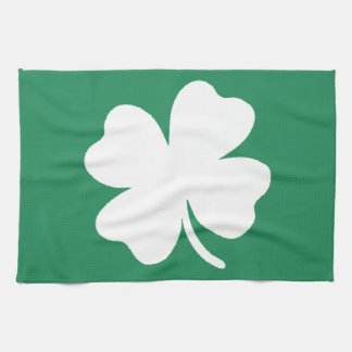 Shamrock  Saint Patricks Day Ireland Hand Towel