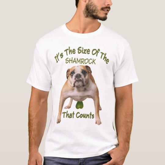 Shamrock size counts T-Shirt