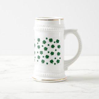 Shamrock Snowflake Stein Coffee Mugs