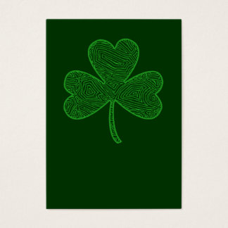Shamrock St. Patrick's Day Business Card