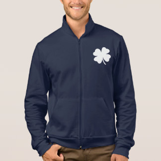 Shamrock  St Patricks Day Ireland Green Clover Jacket