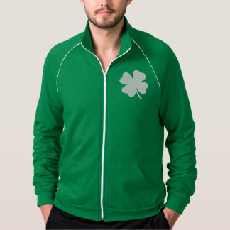 Shamrock  St Patricks Day Ireland Jacket
