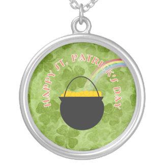 Shamrock St Patrick's Day Necklace