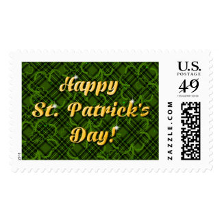 Shamrock St Patrick's Day Stamp