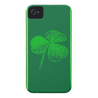 Shamrock Stamp by Kenneth Yoncich Case-Mate iPhone 4 Cases