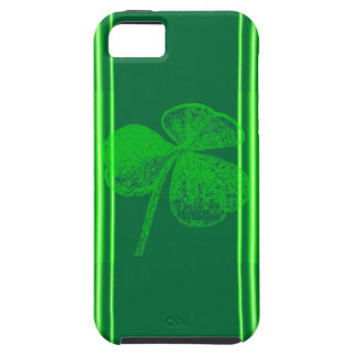 Shamrock Stamp by Kenneth Yoncich iPhone SE/5/5s Case