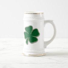 Shamrock Stein Mug mug