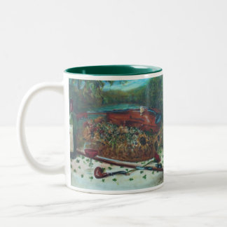 Shamrock Table/ Fiddler Two-Tone Coffee Mug