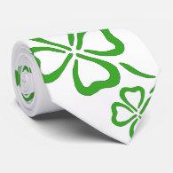 Shamrock tie