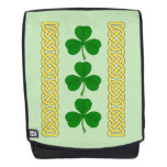 Shamrock Trio and Knotwork Bands Backpack