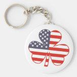 Shamrock USA Keychains