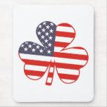 Shamrock USA Mouse Pad