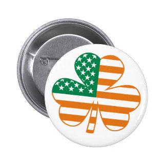 Shamrock USA Pinback Button