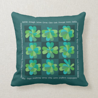 Shamrock Variations Pillow