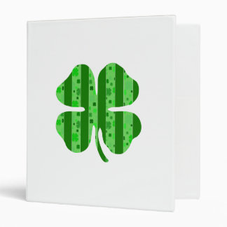 Shamrock with stripes png 3 ring binders