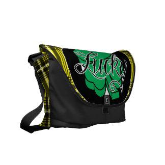 shamROCK (Yellow) Messenger Bag