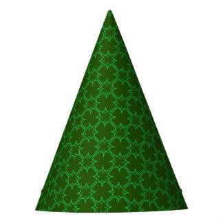 Shamrocked Saint Patrick's Day Clover Patterned Party Hat