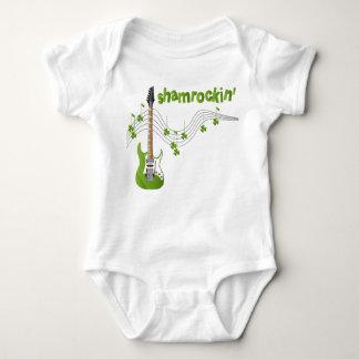 Shamrockin Baby Bodysuit