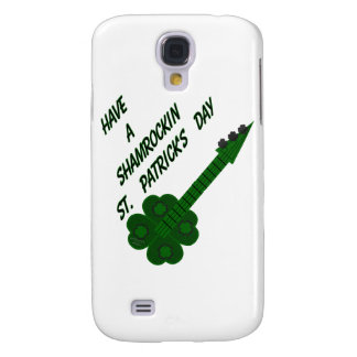 Shamrockin Guitar for St. Patrick's Day Samsung Galaxy S4 Covers